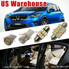 9-pc Luxury White LED Lights Interior Package Dome Kit for 2013- up Mazda CX-5
