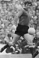 Football Photo JOE CORRIGAN Manchester City 1970s