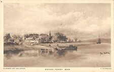 BR75377 govan ferry painting postcard t fairbairn    glasgow  scotland