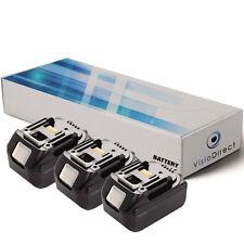 Lot de 3 batteries 18V 3000mAh pour MAKITA BDF452Z - Société Française -