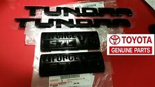 Toyota Genuine OEM TRD PRO Black Emblem 4-Piece Kit Tundra 2014 2015 2016 2017