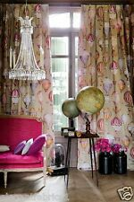 MANUEL CANOVAS HOT AIR BALLOONS TOILE FABRIC 10 YARDS RED ROSE  LAVENDER  MULTI