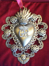 Sacred Heart The Vatican Observatory Foundation Ornament COA NIB Pope Francis