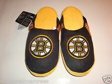NHL Boston Bruins Team Jersey Indoor/Outdoor Slippers ~ Size XL (13-14)