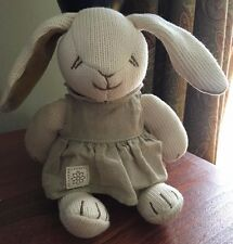 "Sweet Organic Bunny Easter miYim Simply Organic Fairytale 9"" Baby Victo Ivory"
