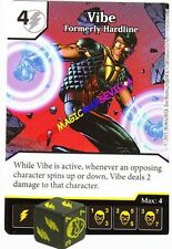 133 VIBE Formerly Hardline -Rare- JUSTICE LEAGUE - DC Dice Masters
