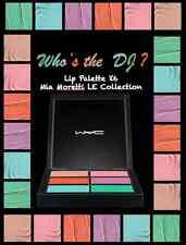 mac Mia Moretti Lip Palette x 6