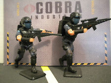 GI JOE ~ SET OF TWO  2002 PURPLE COBRA VIPERS ~