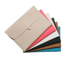 """For Macbook Pro / Retina 15inch 15.4"""" Laptop Leather carry sleeve bag case cover"""