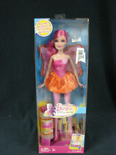 Mattel 2010 Barbie A Fairy Secret Blow Bubbles with my Wings New