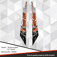 SKI-DOO XP MXZ SNOWMOBILE 137'' TUNNEL WRAP GRAPHICS DECAL KIT 2008-2013 SA0368