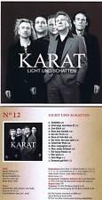 """Karat """"Licht und Schatten"""" 12. Werk! 2003! Digital remastered! Neue CD!"""
