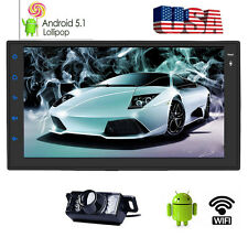 Android 5.1 Lollipop 2DIN Car CD NO DVD GPS Stereo Navigator WIFI Bluetooth OBD2