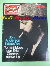 rivista CIAO 2001 13/1981 Jon Anderson Eric Clapton Sun Ra Eddy Grant  No cd