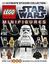 LEGO  Starwars Minifigures ultimate Sticker Collection  1000 reusbale stickers!