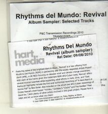 (CW475) Rhythms del Mundo, Revival sampler - 2010 DJ CD