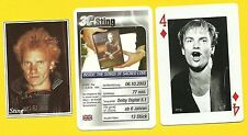 STING The Police Gordon Matthew Thomas Sumner Fab Card Collection A