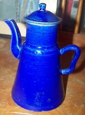 Antique Chinese Blue Monochrome Ewer
