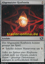 2x Abgenutzter Kraftstein (Worn Powerstone) Commander 2014 Magic