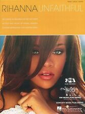 Rihanna Unfaithful Learn to Play Pop PIANO Guitar PVG SHEET Music Book