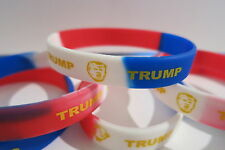 DONALD TRUMP 2016 - LOT OF (3) WRISTBANDS - BRACELET- PRESIDENT LIMITED EDITION