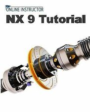 NX 9 Tutorial by Online Instructor (2014, Paperback)