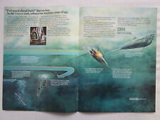 6/1981 PUB IBM SUBMARINE WARFARE WWI HMS HOGUE CRESSY ABOUKIR U-9 WEDDINGEN AD