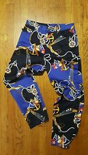Lauren Ralph Lauren Nautical Pants womens 8 Cropped Ropes Anchor Flags Boating