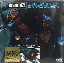 """New & Sealed! GZA """"Liquid Swords"""" Double LP Vinyl Record Set with Free Shipping"""
