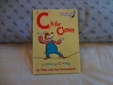 """C"" IS FOR CLOWN .. BY STAN AND JAN BERENSTAIN . HC ...8.75 X 6.25  GLOSSY COVER"