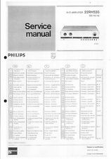 Philips Service Manual für  22 RH 520