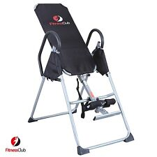Foldable Inversion Table Invert Align Chiropractic Therapy Fitness Back Relief