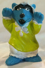 """Vintage MUPPETS Inc The Big Bad Wolf - PVC Doll Character Figure 2.5"""""""