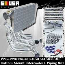 For 95-98 Nissan 240SX S14 SR20DET Front Bottom Mount Piping Kits Intercooler
