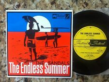 THE SANDALS ENDLESS SUMMER 60S ORIG PROMO AUSSIE IMPORT SURF ROCK EP SURFING OZ