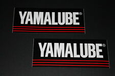 *9 Yamaha Lube Aufkleber Sticker Decal Autocollant Bapperl ÖL Oil Lubricant GP