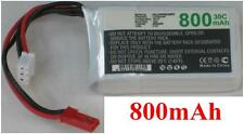 Batterie 7.4V  800mAh type JST-SYP-2P JST-XH-2.54 AWG24 Generic RC Helicopter