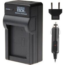 Premium Tech AC/DC PT-15 High Quality Battery Charger for Nikon D200, D300, D70