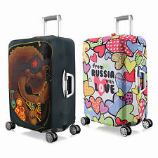 """M Elastic Travel Luggage Suitcase Spandex Cover Protector For 24'' ~ 26"""""""