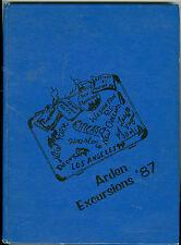 1987 Arden Middle School, Sacramento, California, Excursions Year Book