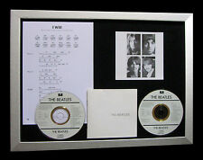 THE BEATLES I Will GALLERY QUALITY MUSIC CD FRAMED DISPLAY+EXPRESS GLOBAL SHIP