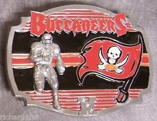 NFL Pewter Belt Buckle Tampa Bay Buccaneers NEW