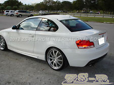07-13 BMW E82 128i 135i Coupe Painted 300 White Performance Style Trunk Spoiler