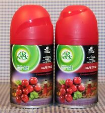 2 Air Wick Freshmatic Ultra CAPE COD Automatic Spray Refill LIMITED EDITION
