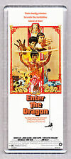 ENTER THE DRAGON movie poster LARGE 'WIDE' FRIDGE MAGNET- BRUCE LEE!