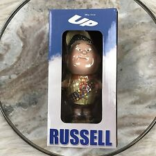 "DISNEY Pixar Up Movie Russell Bobblehead Figure Elements Boy Scout 7"" New Box"