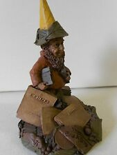 """NOS Tom Clark Gnome Collectible """"Pedro"""" '86 ED #56 Newspaper/Typesetter Gnome!"""