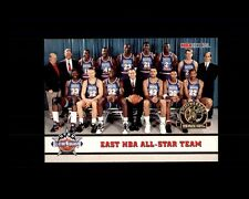 MICHEAL JORDAN 1993 HOOPS EAST ALL STAR TEAM #281 Gold Anniversary (L)