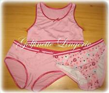 VARIANCE LINGERIE FILLETTE 3 PIECES  6-8 ANS