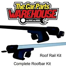 Full Roof Rack Bar Kit SUM500 Mountney WITH RAILS VOLKSWAGEN CADDY Mk3 Van 10-13